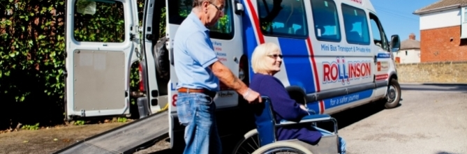 Disabled Mini Bus Hire