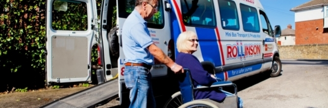 Disabled Access Mini Bus Hire